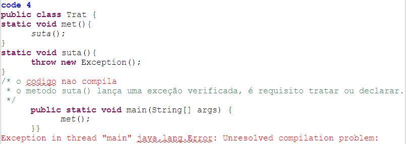 code-4-excecoes