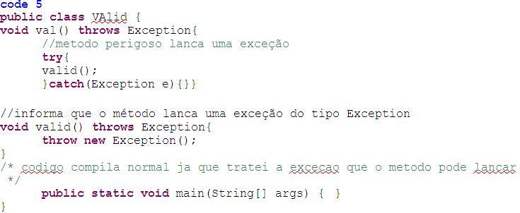 code-5-excecoes
